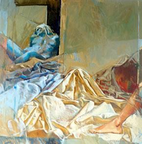 Pittore galleria quadri dipinti prof pierluigi piccinetti fano acquerelli arte - Lo specchio nell arte ...